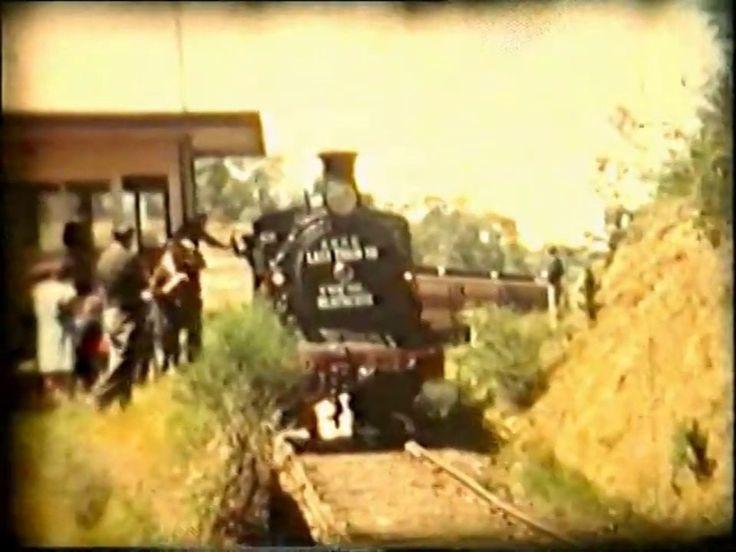 Last Train to Heathcote Victoria 1968 - history of the Kilmore /Bendigo railway