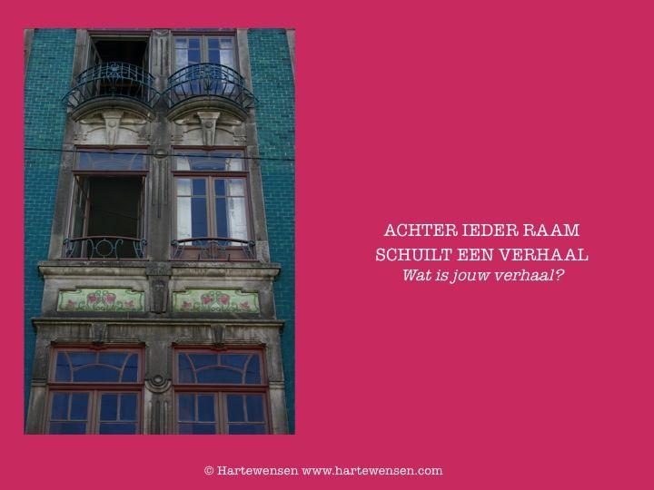 Achter ieder raam schuilt een verhaal...