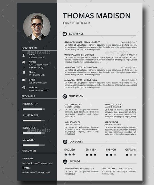 Job Career Resume Cv Kreatif Desain Resume Desain Cv