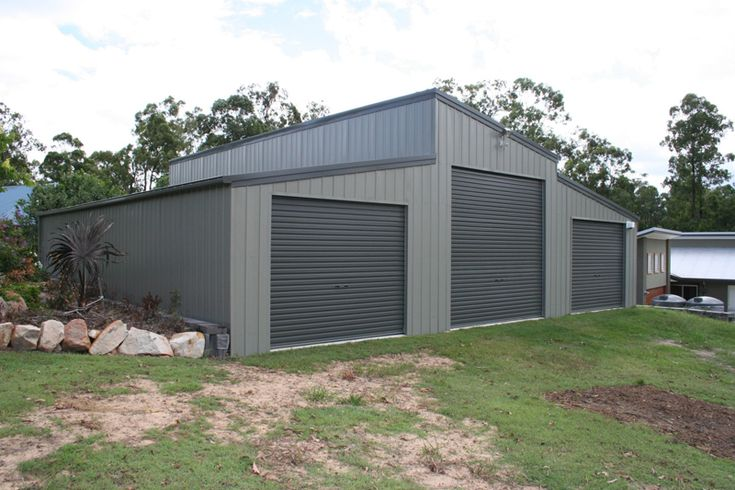 Skillion roof shed designs plan for Garage roof styles