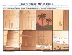 Tower of Babel Match Game