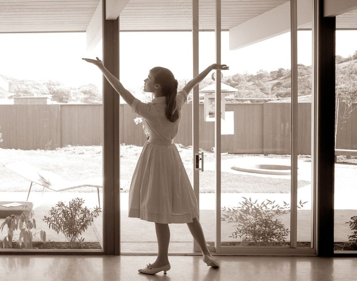 Arcadia Sliding Doors Eichler Advertisment Featuring Arcadia Aluminum Sliding Glass Doors