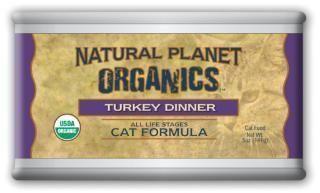 Natural Planet Organic Turkey Cat Food 12-5OZ