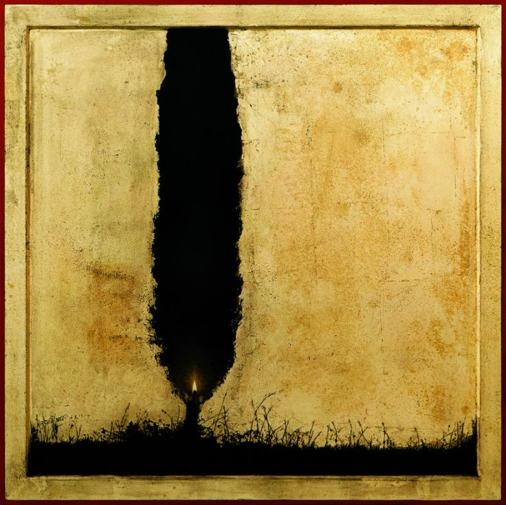 Christos Bokoros Cypress illuminated shadow (έργο συλλογής / collection`s artwork)   Felios Collection