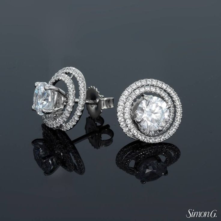 Best 25+ Solitaire earrings ideas on Pinterest