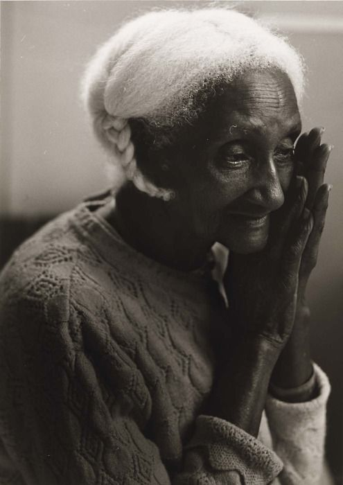 Joan Cassis, Untitled (Elderly Afro-American Woman with Braid, Mary), 1986: Elder, White Hair, Faces, Joan Cassie, Black Woman, Beautiful Black, Natural Hair, Photography, Human