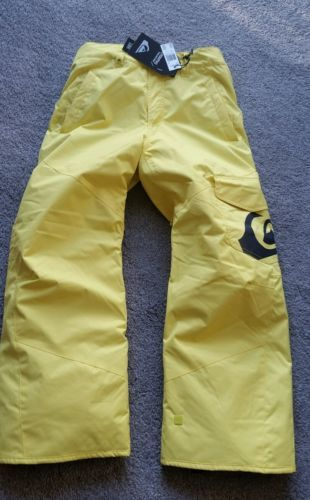 #Quiksilver youth l age 14 boys #girls snowboard ski bright yellow #salopettes/pa,  View more on the LINK: 	http://www.zeppy.io/product/gb/2/172489193602/