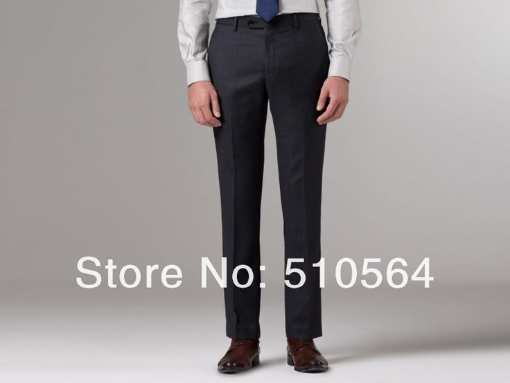Free shipping Italian high quality worsted 100% pure Wool suit Two Buttons Coal Birdseye Suit dark grey suit (jacket+pants) -in Suits from Apparel & Accessories on Aliexpress.com   Alibaba Group