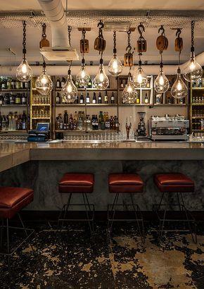 Mejores diseños del Reino Unido: Mejor Restaurante / Bar Independiente: Whyte & Brown (London) / Blacksheep 2014 Design Award.