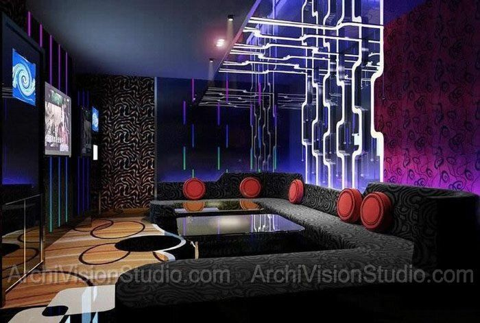 17 best images about karaoke room on pinterest purple for Karaoke room design ideas