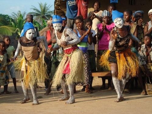 The bondo secret society in Sierra Leone