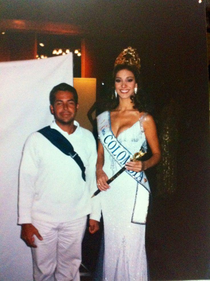 Miss Colombia Diana Maria Mantilla