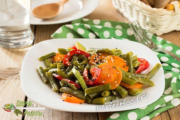 Зеленая стручковая фасоль рецепты с фото