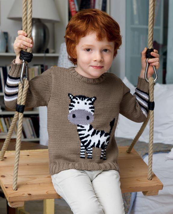 Пуловер (д) 07*120 Phildar №4621