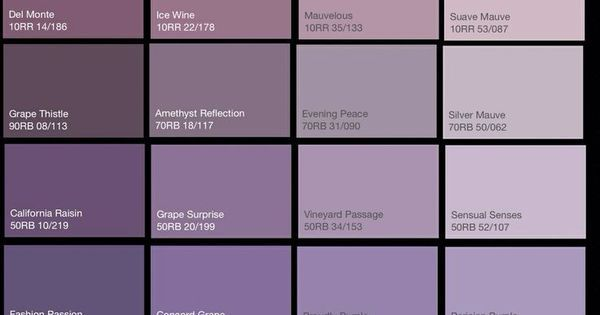 dark lilac paint - Google Search | My Home/Decor | Pinterest | Paint colors, Charts and Dulux paint chart