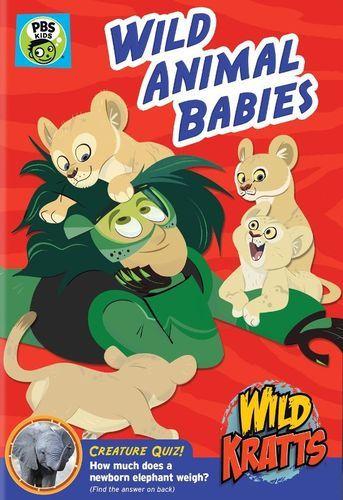 Wild Kratts: Wild Animal Babies [DVD]