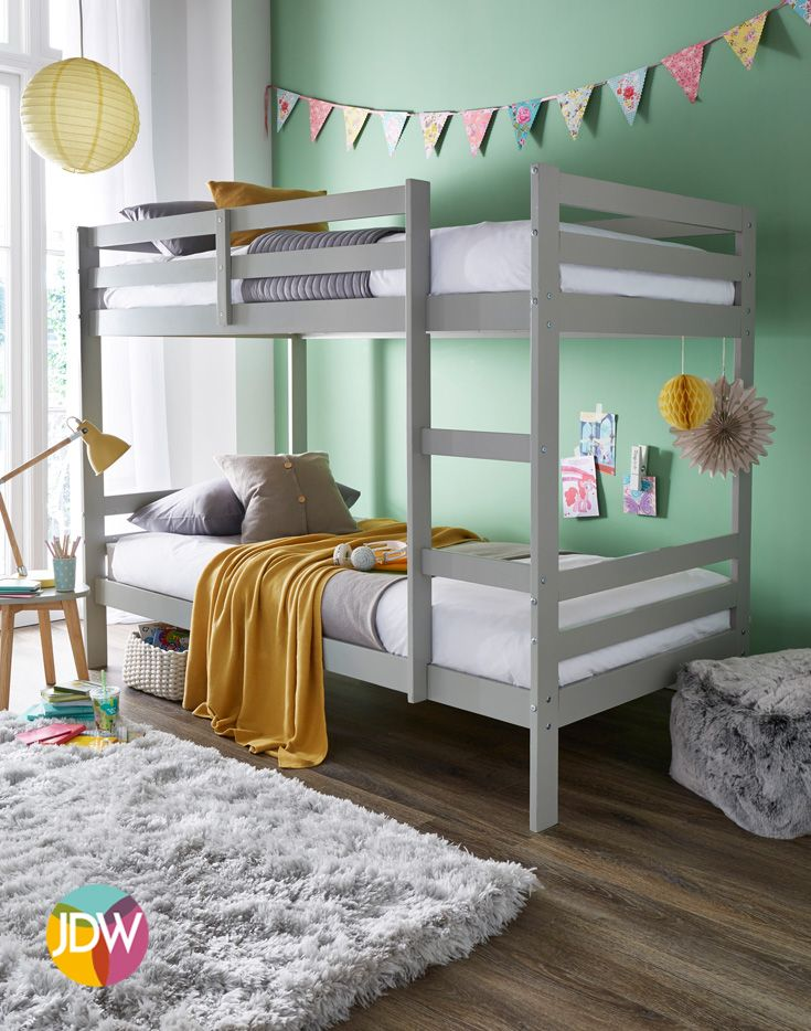 Double Trouble Bunk Bed Bedroom Inspiration Minimalist Colourful Kids Bedroom Inspiration Bunk Bed Designs Kids Bedroom Inspiration Bunk Beds