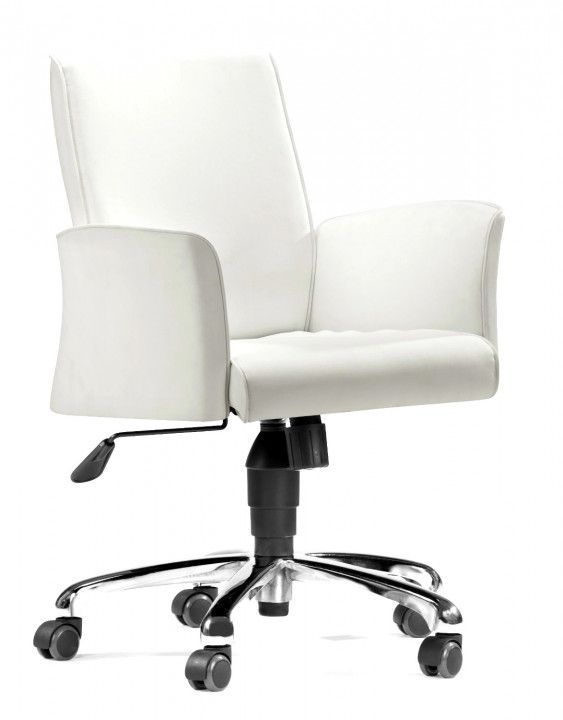 Desk Chairs On Wheels Chair Seat Covers Pin By Ergolife Ergonomic Furniture For The House In 2018 Pinterest White And