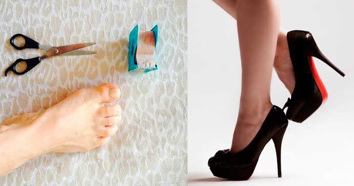 Nunca más dolor en los pies con tacos altos, este truco tan sencillo es la solución   Trucos de casa
