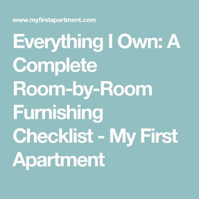 The 25+ best First apartment checklist ideas on Pinterest   First ...