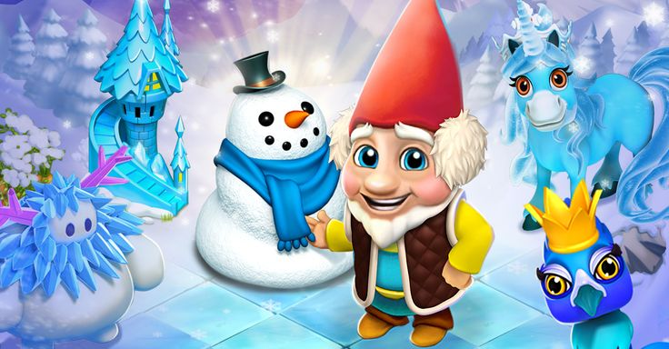 Do you want to build a snowman? Enjoy the winter with Royal Story…