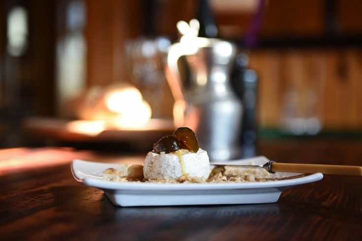 Cheese, figs and nut...get take-aways from Bramon restaurant if you're feeling lazy