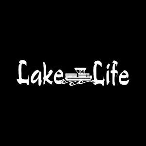 Lake Life Pontoon Boat Decal Sticker