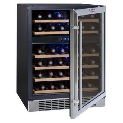 LA SOMMELIERE CVDE46-2 Cave à vin encastrable - Achat / Vente cave à vin - Cadeaux de Noël Cdiscount