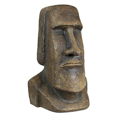 Outdoor Statues Large Size  Design Toscano Easter Island Ahu Akivi Moai Monolith Statue Extra Large Outdoor Living *** This is an Amazon Associate's Pin. Clicking on the image will lead you to find similar product on the website