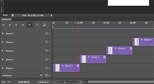 Animierte GIF-Dateien mit Photoshop erstellen