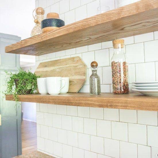DIY Heavy-Duty Floating Shelves (Craft Gawker)