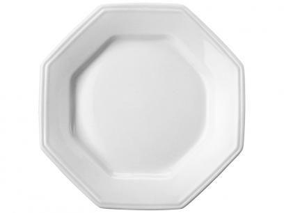 Prato Octogonal Porcelana de Sobremesa - Schmidt Prisma com as melhores condições você encontra no Magazine Dannyeves. Confira!