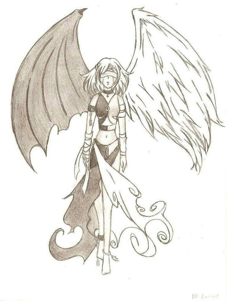 Pin De Yared Romero En Dibujos Dibujos Alas De Angeles Dibujos Angel Para Dibujar