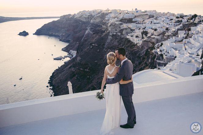 Oia Venue | Santorini Wedding by Stella and Moscha - Exclusive Greek Island Weddings | Photo by Nikos P. Gogas