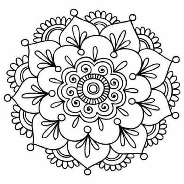 Best 25 mandalas faciles ideas on pinterest zentangle f cil f cil mandala and zentangle art - Mandala facile ...