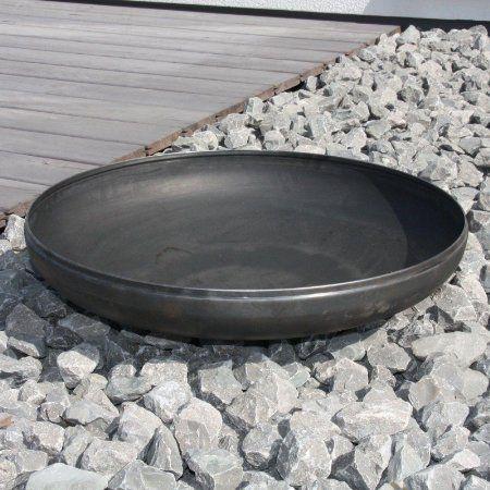 Braciere fondo Klöpper 790mm acciaio, 79x79x18 cm, look in acciaio non trattato: Amazon.it: Giardino e giardinaggio