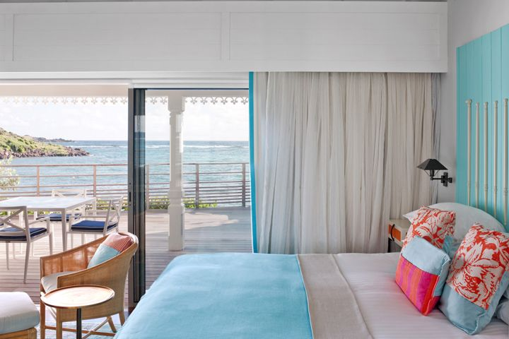 Guanahani Hotel & Spa by Luis Pons Design Lab, St Barth – French West Indies love the colors of this hotel