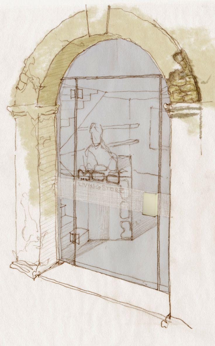 studies for a shop entrance - coolstoodio
