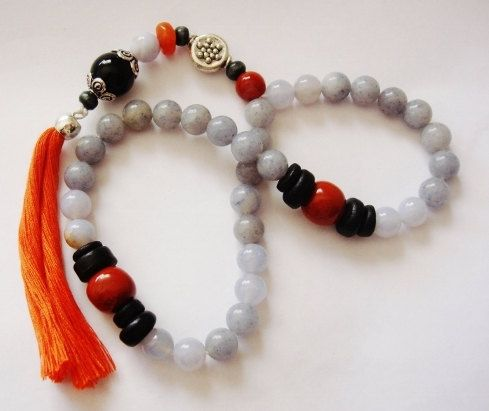 Turkish Islamic 33 Prayer Beads Tesbih Tasbih by kaysoothingbeads, $35.00