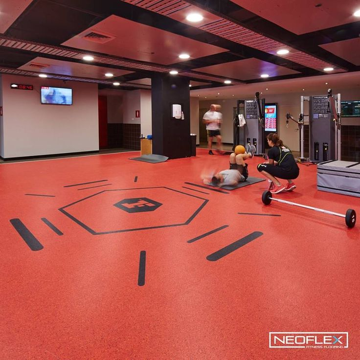 New Gym Flooring Miami