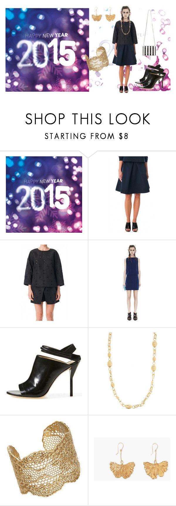 """GOODBYE 2014 - HELLO 2015!"" by gordon-stuart ❤ liked on Polyvore featuring TIBI, Acne Studios, 3.1 Phillip Lim and Aurélie Bidermann"