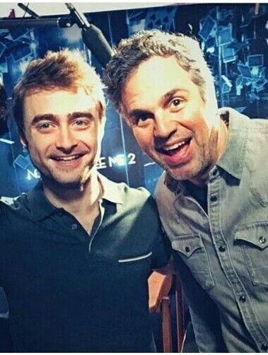 I cant put into words what they both mean to me! Daniel Radcliffe & Mark Ruffalo ♥