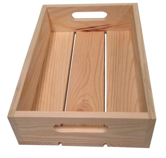 Vegetable Crate Strong Wooden Storage Thick Wood Tool Box Apple Crates Handles Christmas Eve Box Wood Tool Box Wooden Crates With Handles Wooden Storage
