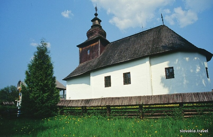 Slovakia, Kalná Roztoka - Wooden church