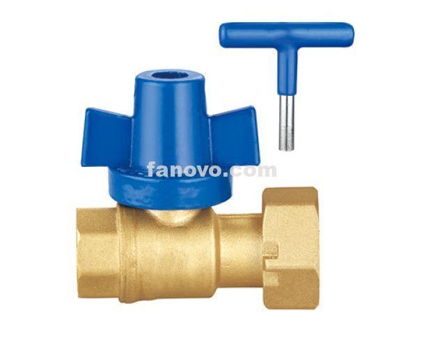 Ff1590 Female Thread Nut Full Flow Lockable Hand Brass Ball Valve Fanovo Industries Valve Heating And Air Conditioning Ball