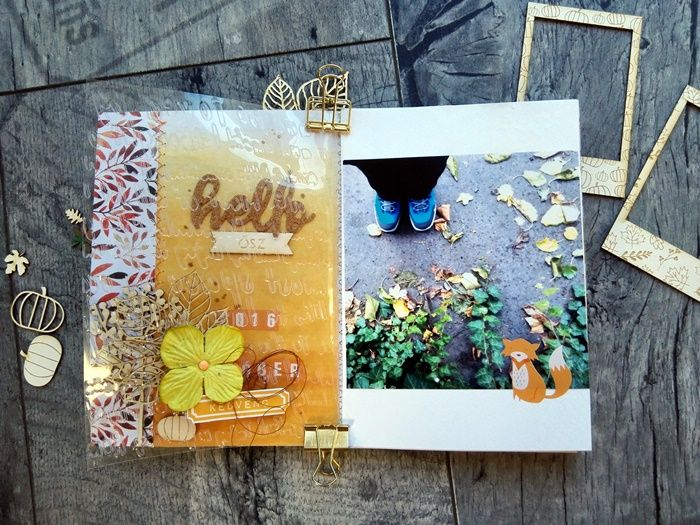 fall mini album by Andrea Gellai
