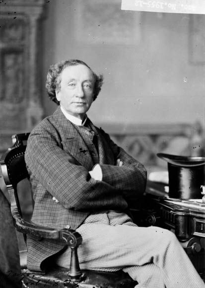 """Famous Freemasons - Sir John Alexander Macdonald, 11 January 1815 – 6 June 1891  First Prime Minister of Canada, 17 October 1878 – 6 June 1891, 1 July 1867 – 5 November 1873  Initiated into """"St. John's Lodge No. 5"""", Kingston Ontario in 1844  Honourary Past Grand Senior Warden of the Grand Lodge of Canada in the Province of Ontario"""