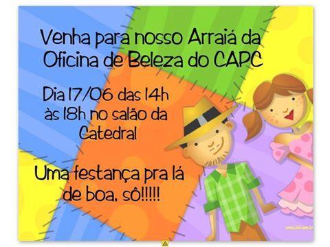 Aquecendo Coracões Solidariedade Junina ao CAPC - Centro de Apoio ao Paciente com Câncer de Londrina
