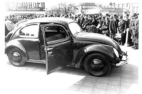 Puplic presentation of the KDF-Wagen