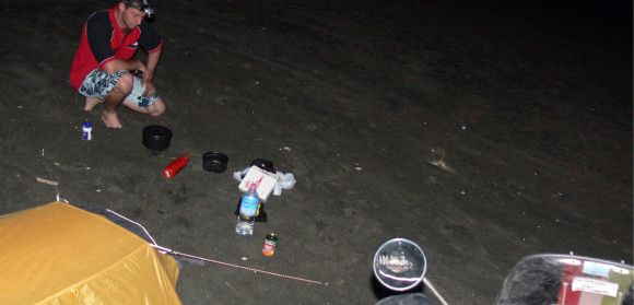 Equipaggiamento Preparazione Cibo da Campeggio